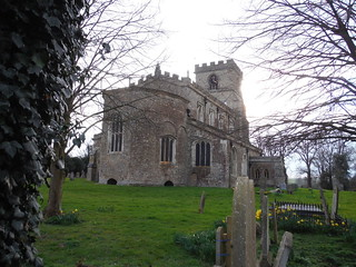 All Saints Church, Wing, with its rare octagonal apse