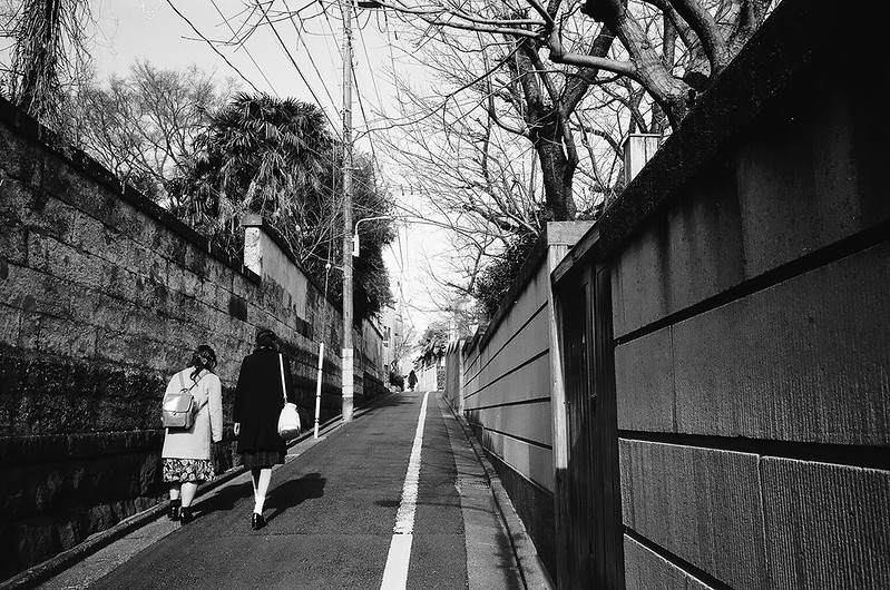 日暮里・谷中・根津 by RICOH GR1s 2016年2月21日