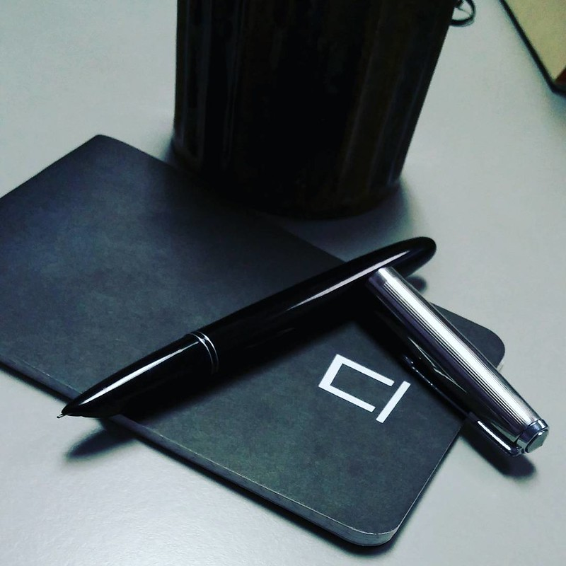 fragment notebook and Hero 616  #notebook #FountainPen #longhand #journal #coffee