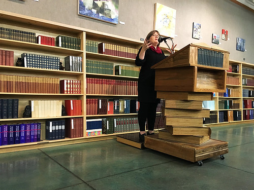 Clara Parkes at Powells