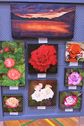 Landscape Art Group paintings at the Big Bargain Book Sale