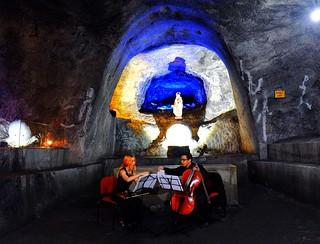 Obrázek Salt Mine u Nemocón. colombia nemocón chia travel expat