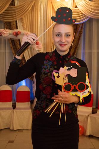 Moderatoarea Maria Trifon cu Formaţia Mi Minor > Foto din galeria `Portofoliu mai multor lucrari`