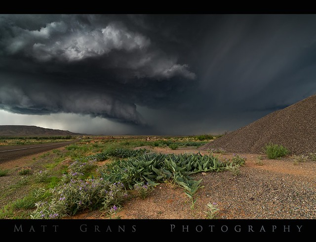 Storm over New Mexico