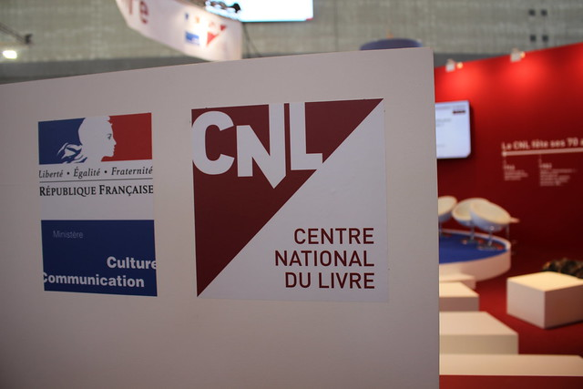 Centre national du livre - Livre Paris 2016