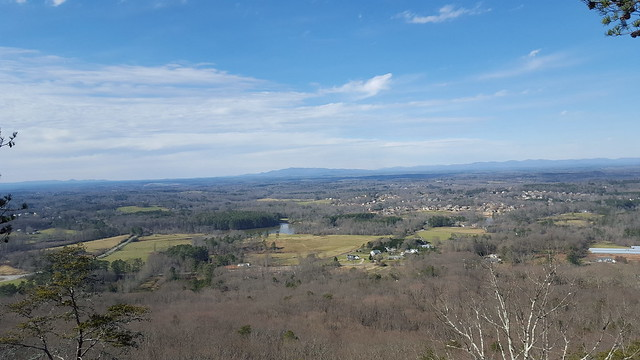 View from Sawnee Mountain