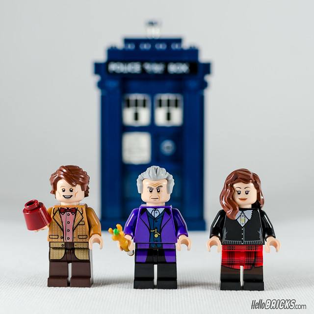 REVIEW LEGO 21304 Ideas Doctor Who (HelloBricks)