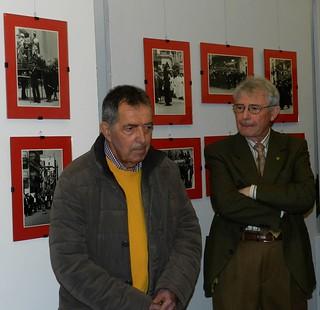 Da sinistra il Presidente dell'Archeoclub Angelo Campanella e Onofrio Macini