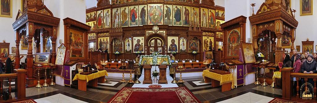Изнесение лаврских святынь в Неделю Торжества Православия