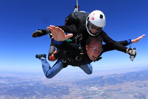 Skydiving in Monterey