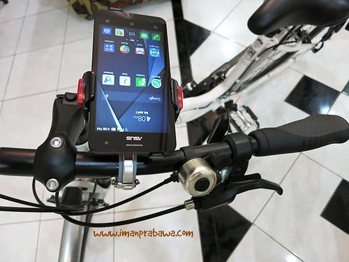 Minoura iH-220-M di Sepeda