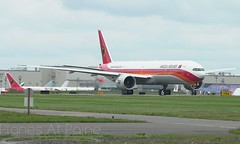 TAAG Angola 777-300ER D2-TEK First Flight