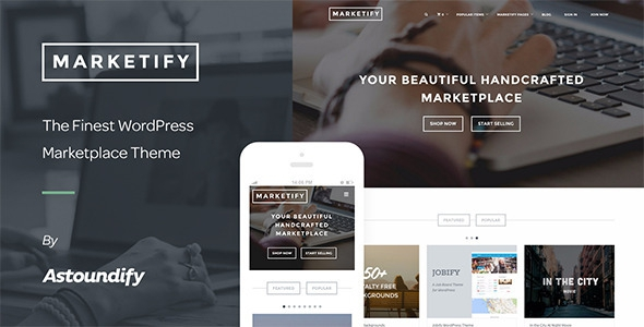 Marketify v2.12.0 – Digital Marketplace WordPress Theme