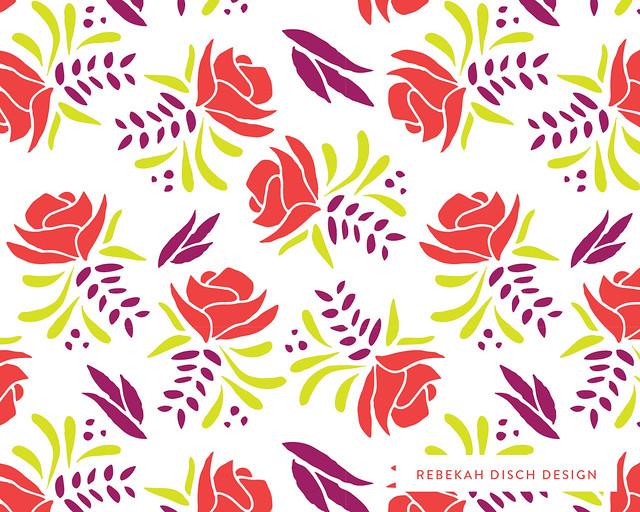 Pattern Camp florals