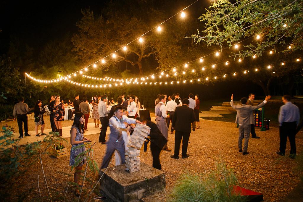 festoon string lighting design by intelligent lighting design