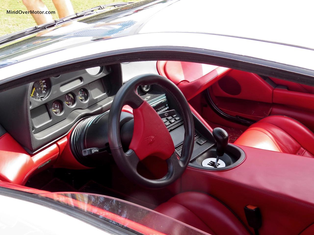 1991 Lamborghini Diablo Interior