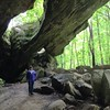 Indian Rockhouse Cave on the Buffalo National River