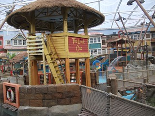 Alton Towers Waterpark - Lifeguard Tower