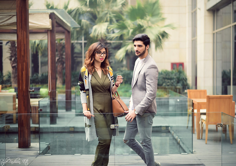 Srish Rohman Shawl jw marriott THE GRATEFUL THREAD Prince Of Wales Check Suit Jacket Vero Moda Koovs Michael Kors Zara Couple Office look newlook jumpsuit cardigan fall fashion fashion shoot