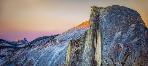 Yosemite's Half Dome at Sunset (1 of 1)