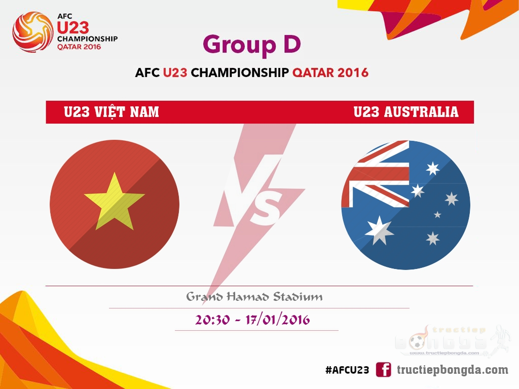 U23 Việt Nam vs U23 Australia