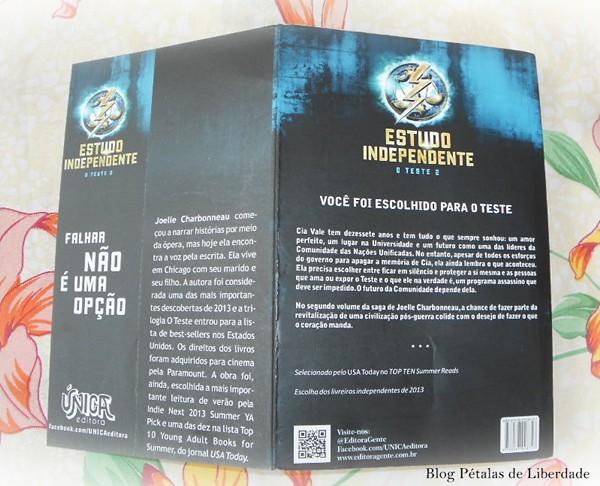 Livro Estudo Independente, trilogia O Teste (2)