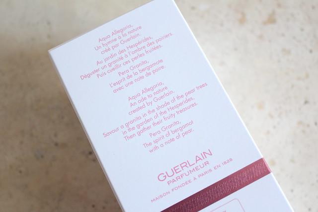 Guerlain Aqua Allegoria Pera Granita review