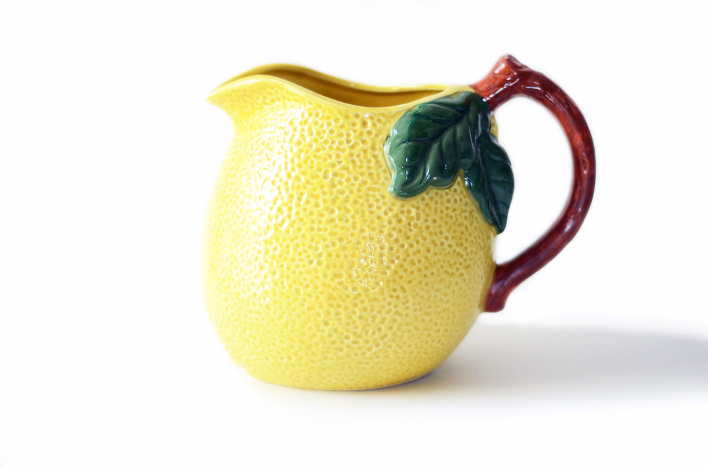Vintage Lemon Pitcher
