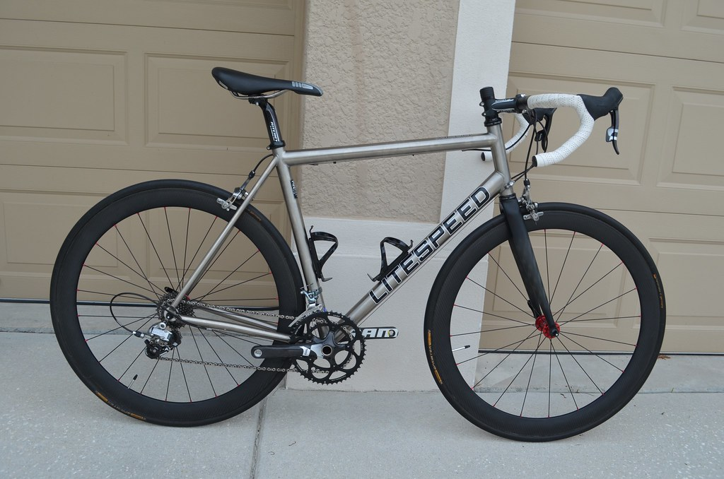 Litespeed Xicon with Carbon Wheels
