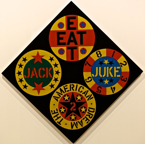 The Black Diamond American Dream n.2 (1962) - Robert Indiana (1928)