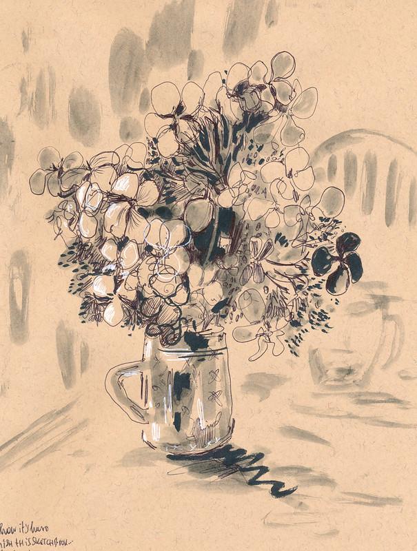 Sketchbook #93: Dry Flowers