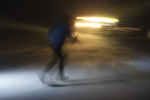 Běžec na Vertical Grand Tour vTatranské Lomnici