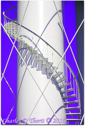 blue usa white abstract tower lines stairs contrast canon ga georgia geotagged spiral twilight pattern shadows purple unitedstates watertower pipes explore telephoto 5d curve 80 f8 1500 circular 2016 180mm superzoom waycross eos5d 35350mm twilightpicturestyle ef35350mmf3556lusm ef353503556lusm 5dclassic 5dmark1 5dmarki geo:lat=3120855019 geo:lon=8235882432