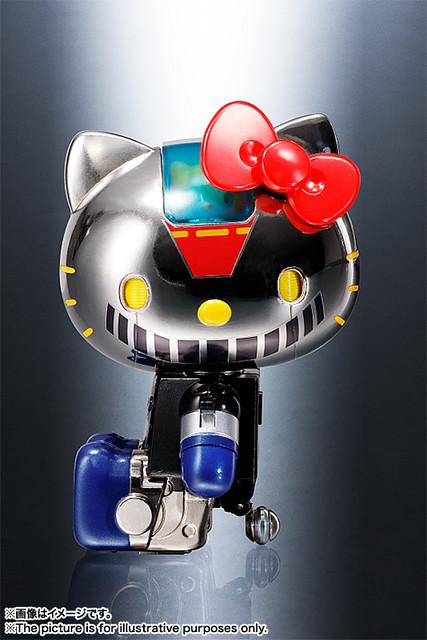 鋼鐵的HELLO KITTY!超合金 凱蒂貓 無敵鐵金剛配色