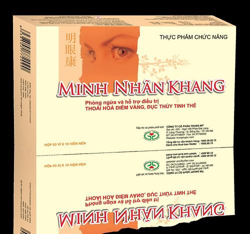 TPCN Minh Nhãn Khang – Giải pháp giúp hỗ trợ điều trị và phòng ngừa thóai hóa điểm vàng hiệu quả
