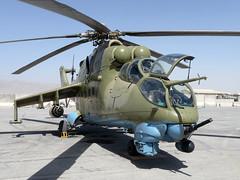 Mil Mi-24 'Hind', 116, Afghan Air Force.
