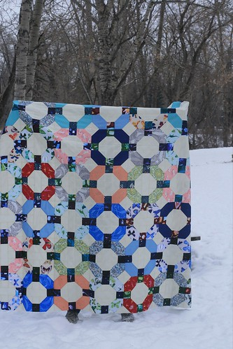 Cheerios quilt top