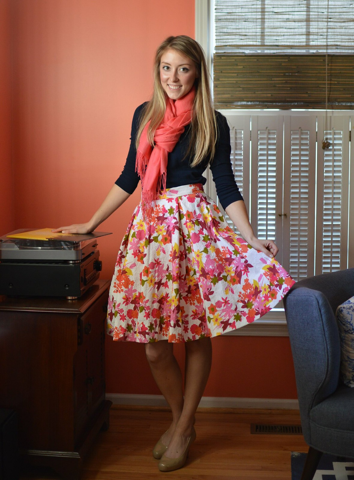 gertie skirt | allie J. | alliemjackson.com