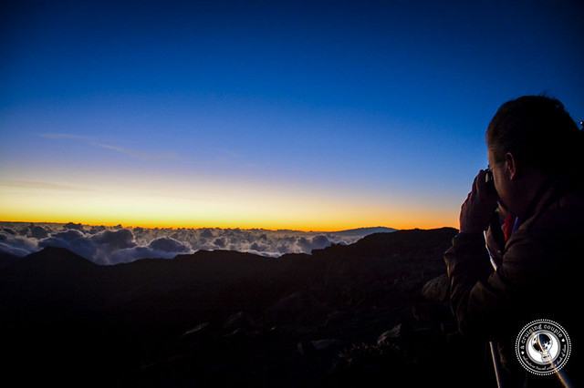 Photographing Mount Haleakala Sunrise