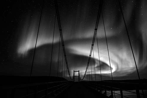 Bridge to the sky - Iceland