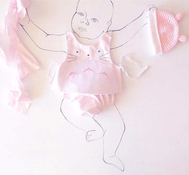 ropa de bebés, petit pipocass