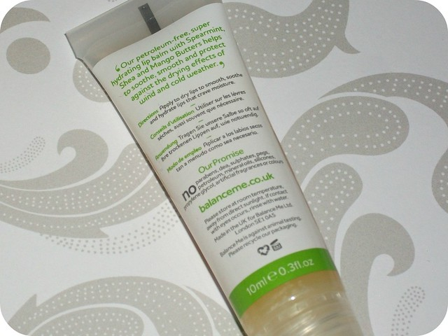 Balance Me Lip Quench Balm Review