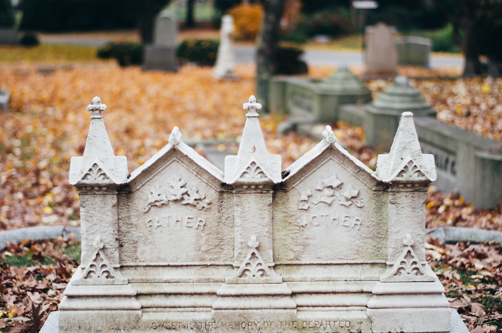 Old Graves on juliettelaura.blogspot.com