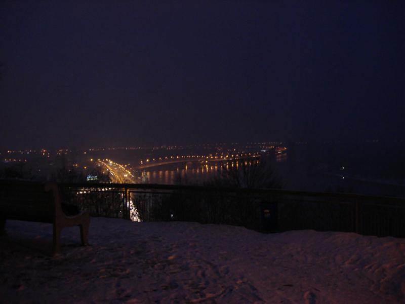 winter in Kyiv Ukraine