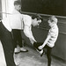 The First Class Taught by Jacques 1964, 2 by NDI Photo Archive