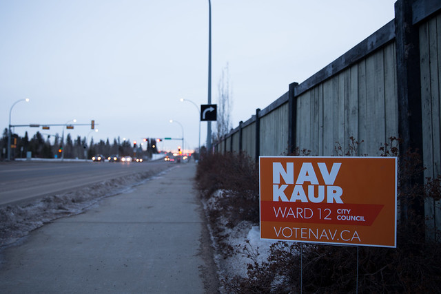 Ward 12 By-Election Signs