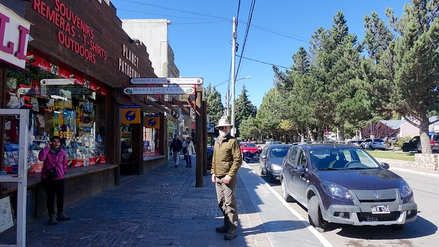 Wandering the streets of El Calafate
