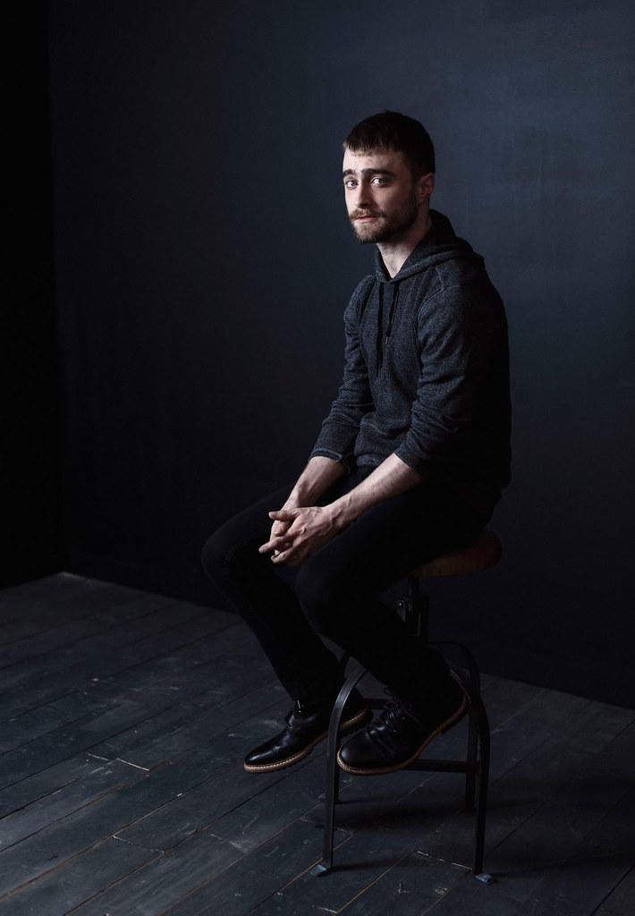 Дэниел Рэдклифф — Фотосессия для «Перочинный человек» на «Sundance» 2016 – 11