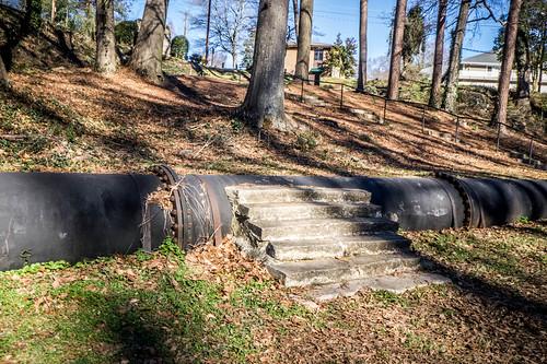 Phantom Stairs on Swamp Rabbit Trail