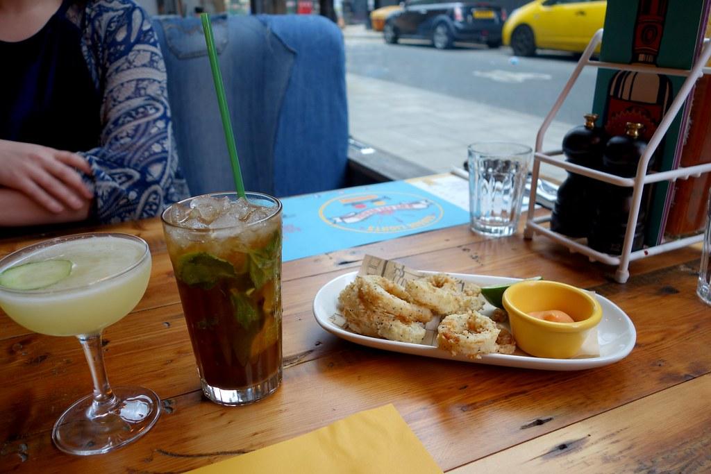 Cabana Brixton - Crispy Squid